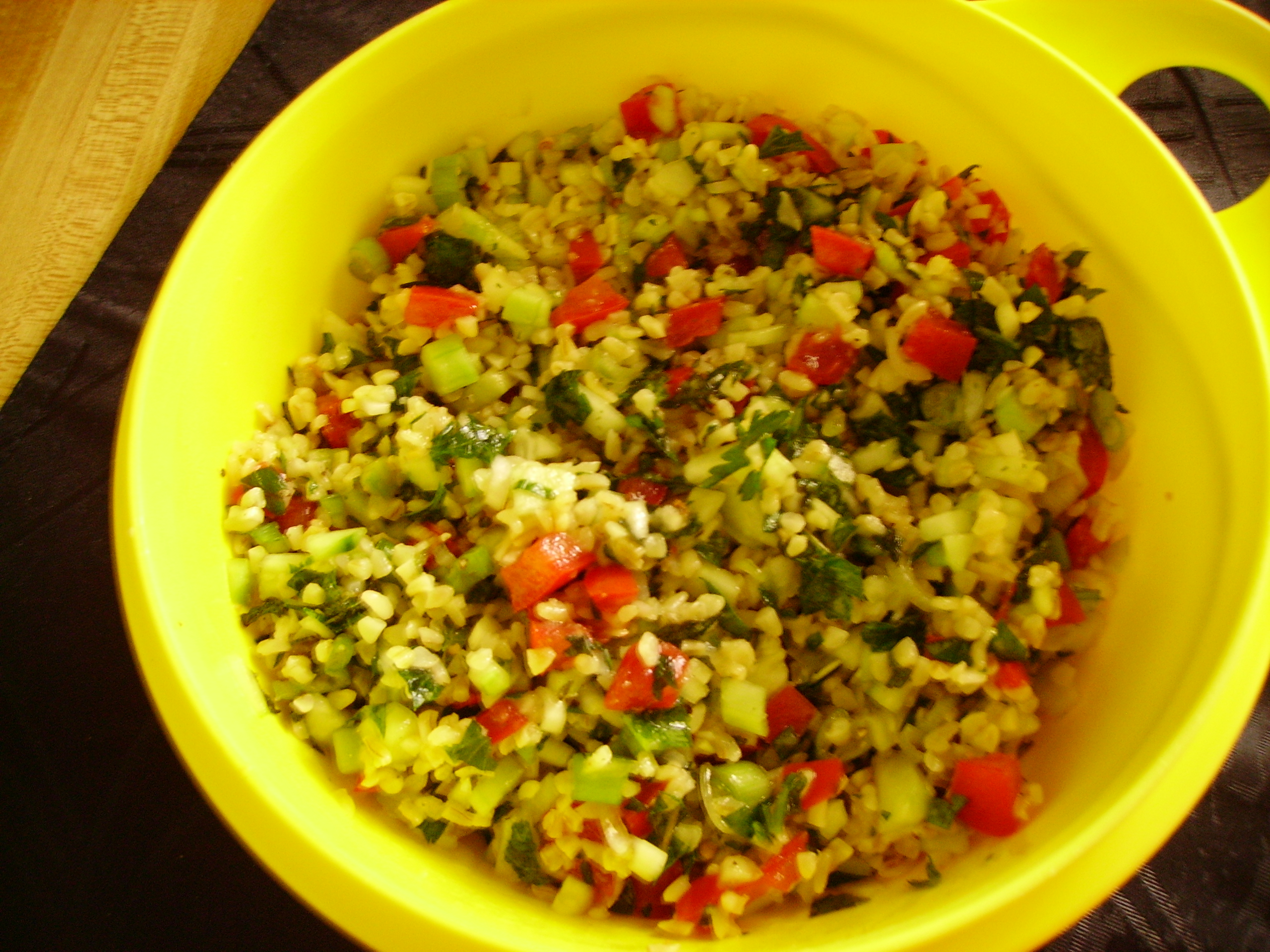 Tabbouleh Salad | Mama D's Kitchen of Love